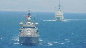Kuzey Ege'de deniz eğitimleri icra edildi