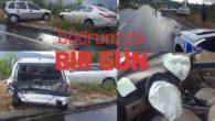 Bodrum'da trafik kazası ucuz atlatıldı