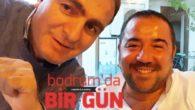 Ata Demirer yeni vizyona girecek film sonrası Bodrum'a geldi
